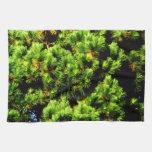 Árbol de pino toallas de cocina