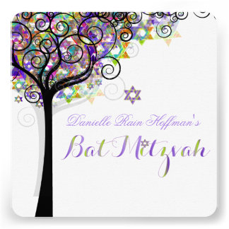 Árbol de PixDezines del palo Mitzvah de la vida Comunicado