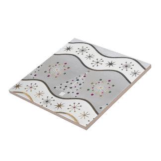 Árbol de plata estilizado teja  ceramica