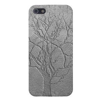 árbol de plata iPhone 5 cárcasas