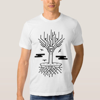 Árbol de Techno Camisas