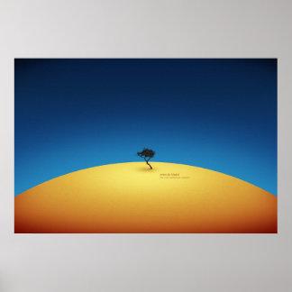 Árbol de Tenere Póster