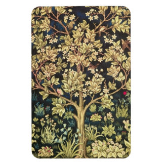 Árbol de William Morris de la vida Imanes Flexibles