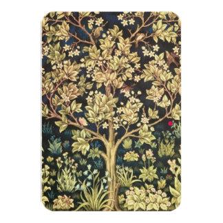 Árbol de William Morris de la vida Invitación Personalizada