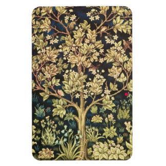 Árbol de William Morris de la vida Rectangle Magnet