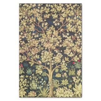Árbol de William Morris del arte floral del Papel De Seda Pequeño