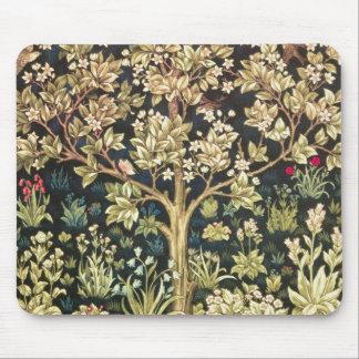 Árbol de William Morris del Pre-Raphaelite del Alfombrillas De Raton
