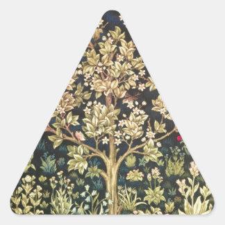 Árbol de William Morris del Pre-Raphaelite del Calcomania De Trianguladas