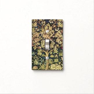 Árbol de William Morris del Pre-Raphaelite del Tapa Para Interruptor