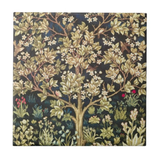 Árbol de William Morris del Pre-Raphaelite del vin Azulejo Cerámica
