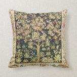 Árbol de William Morris del Pre-Raphaelite del vin Almohada