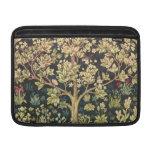 Árbol de William Morris del Pre-Raphaelite del vin Funda Para Macbook Air