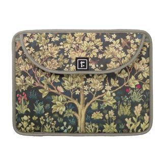 Árbol de William Morris del Pre-Raphaelite del vin Funda Macbook Pro
