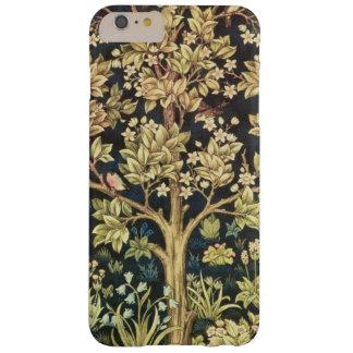Árbol de William Morris del vintage floral de la Funda De iPhone 6 Plus Barely There