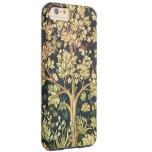 Árbol de William Morris del vintage floral de la Funda De iPhone 6 Plus Tough