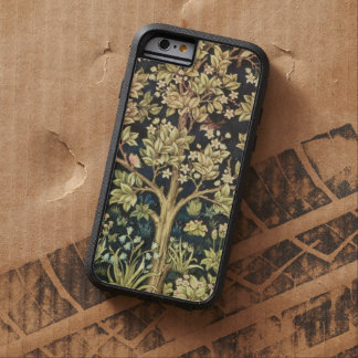 Árbol de William Morris del vintage floral de la Funda De iPhone 6 Tough Xtreme