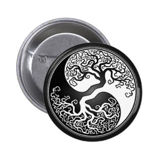 Árbol de Yin Yang Pins