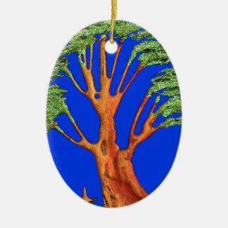 Árbol del acacia del verde azul de Hakuna Matata E Adorno Para Reyes