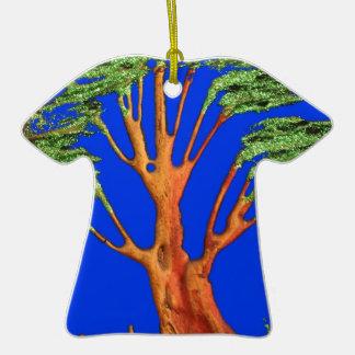 Árbol del acacia del verde azul de Hakuna Matata E Ornamente De Reyes