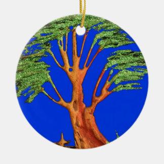 Árbol del acacia del verde azul de Hakuna Matata E Ornato