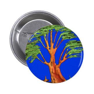 Árbol del acacia del verde azul de Hakuna Matata E Pin