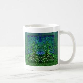 Árbol del agradecimiento de la vida taza clásica