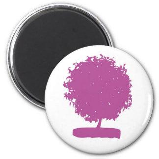 árbol del aneh del ungu imán redondo 5 cm