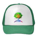 Árbol del arco iris de la vida gorra