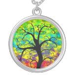 Árbol del arco iris de la vida joyeria