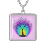 Árbol del arco iris del collar de la vida