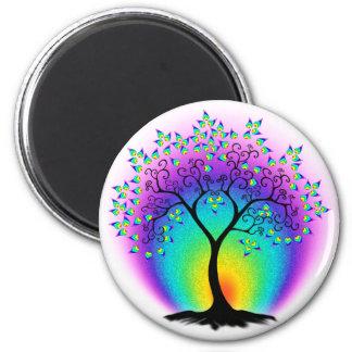 Árbol del arco iris del imán de la vida