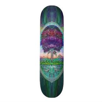 Árbol del arco iris patinetas personalizadas