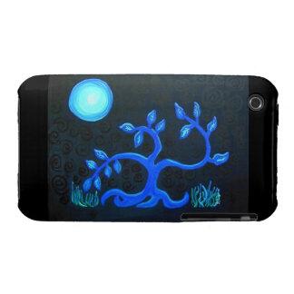 Árbol del baile del caso del teléfono celular iPhone 3 protectores