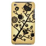 Árbol del búho del vintage Case-Mate iPod touch cárcasa