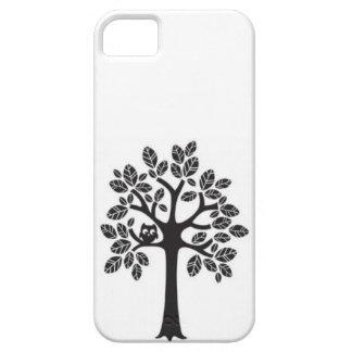 Árbol del búho iPhone 5 carcasa