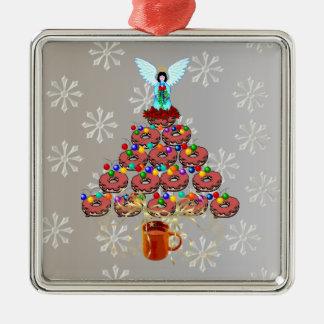 Árbol del buñuelo del navidad ornamento de navidad