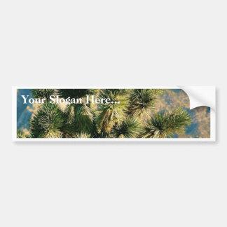 Árbol del cactus pegatina de parachoque