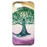 Árbol del Calmness de la vida dentro iPhone 5 Funda