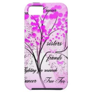 árbol del cáncer de pecho para la vida funda para iPhone 5 tough