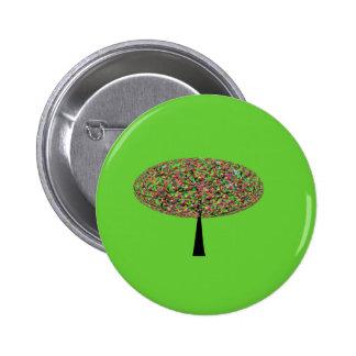 Árbol del caramelo pin redondo 5 cm
