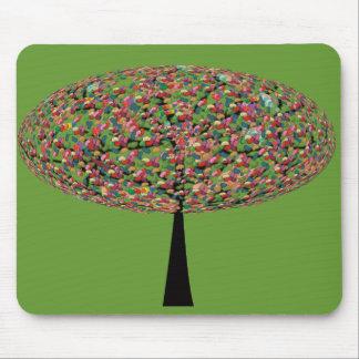 Árbol del caramelo tapetes de ratón