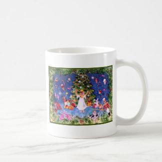 Árbol del cascanueces taza de café