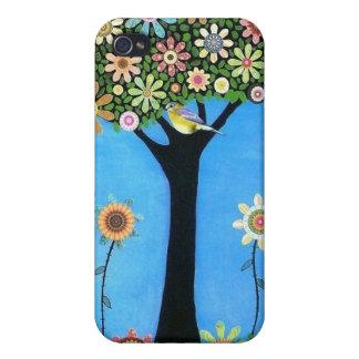 Árbol del caso de Iphone 4 de la belleza iPhone 4 Carcasa