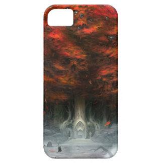 Árbol del caso de Iphone 5 de la dualidad iPhone 5 Case-Mate Protector