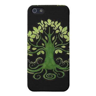 Árbol del caso del iPhone 4 de la vida iPhone 5 Funda