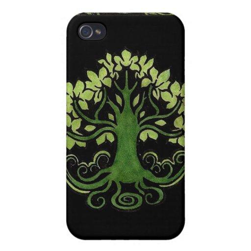Árbol del caso del iPhone 4 de la vida iPhone 4 Coberturas
