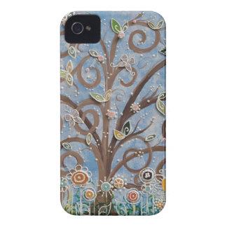 Árbol del caso del iPhone de la vida Carcasa Para iPhone 4 De Case-Mate