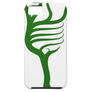 Árbol del cerebro de la bombilla iPhone 5 fundas