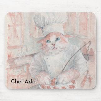 Árbol del cocinero del panadero tapetes de ratones