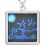 Árbol del Collar-baile de la plata esterlina